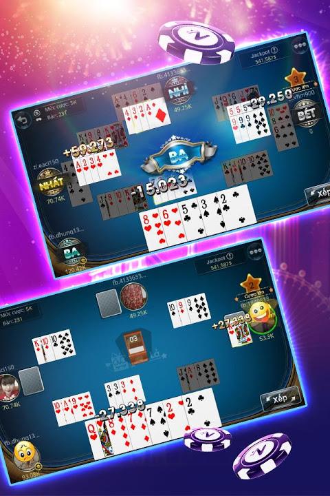 Tú Lơ Khơ - Tá Lả - Phỏm - Ta la ZingPlay screenshot 2