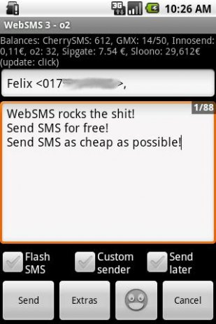 WebSMS: Cherry-SMS Connector 1 8 4 Download APK for Android