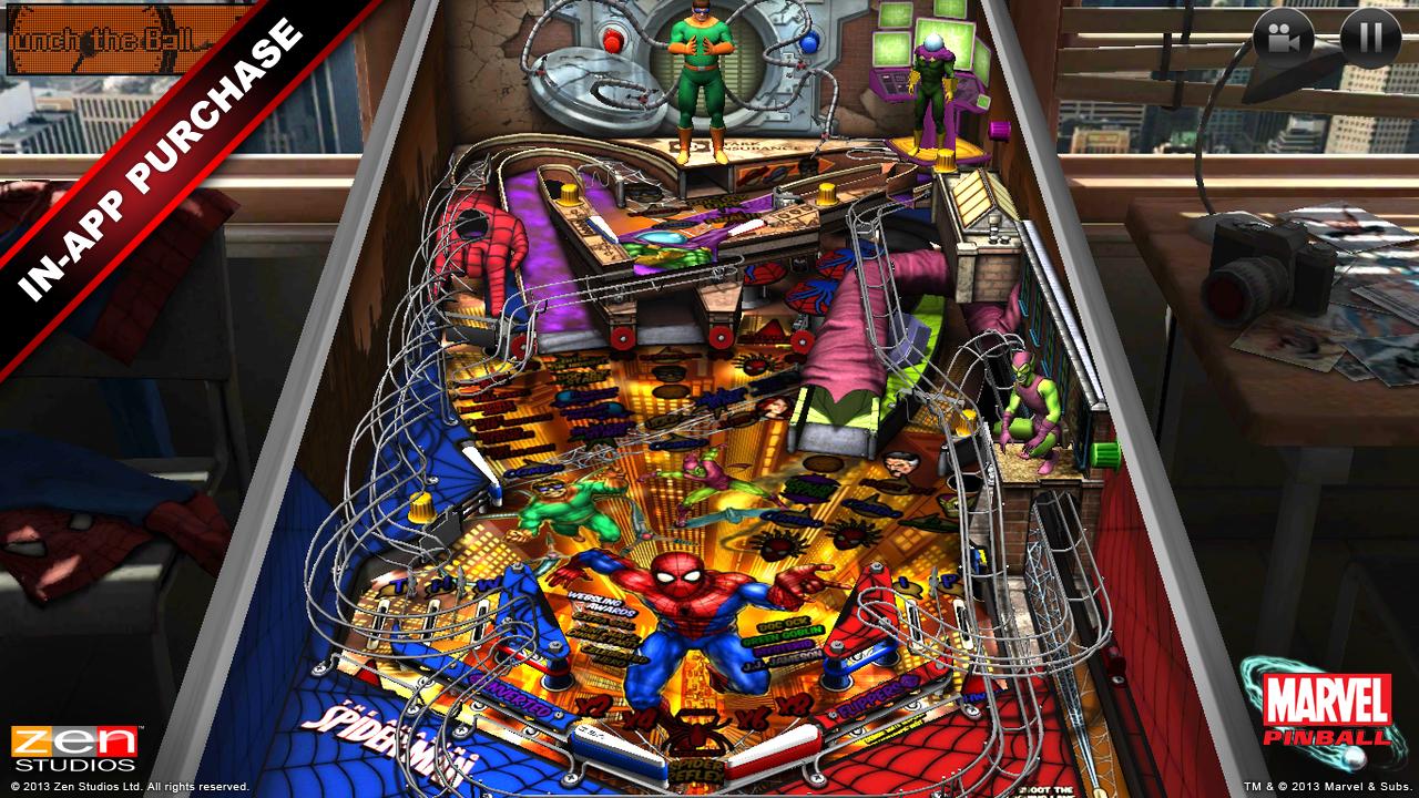 Marvel Pinball screenshot 2