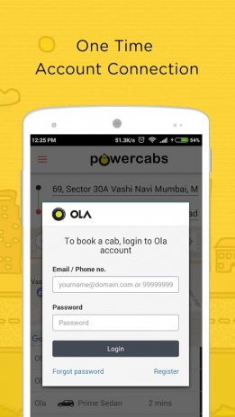 Taxi booking app - Ola Cabs , Easy & DriveU Driver 0 0 17 Download