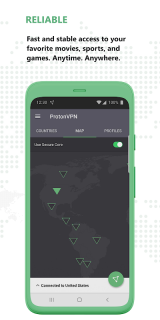 Proton VPN - Free VPN, Secure & Unlimited screenshot 4