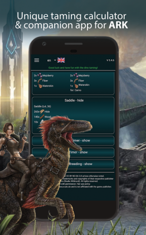 A-Calc | A-Guide taming: Ark Survival Evolved 5 8 9 APK