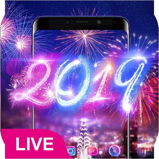 Lucky 3D New Year Firework Theme