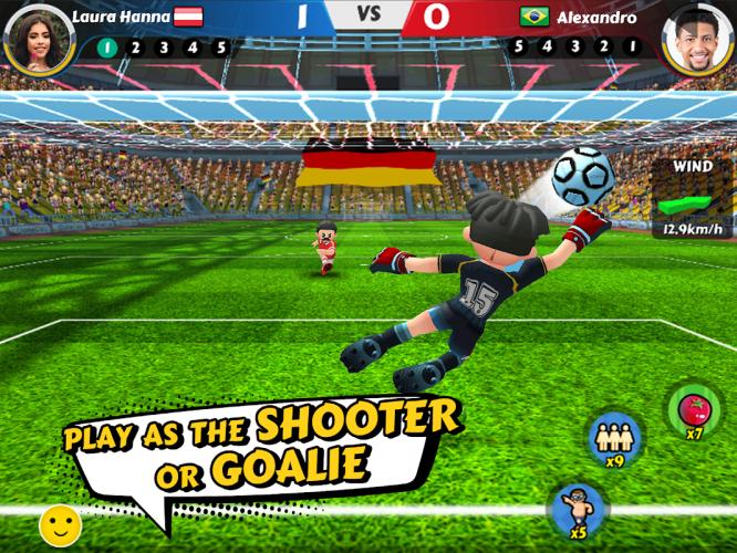 Perfect Kick 2 - Online football game screenshot 1
