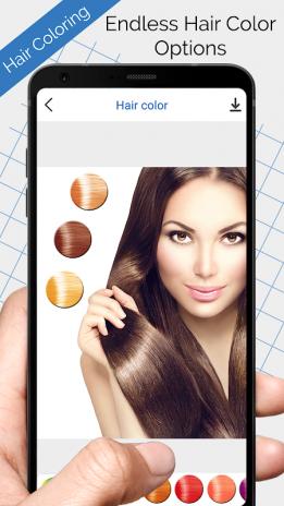 Saç Boyama Yeniden Renklendirme Saç Rengi 11 Android Aptoide