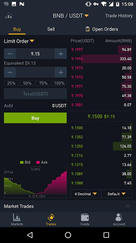 Binance - Cryptocurrency Exchange screenshot 2