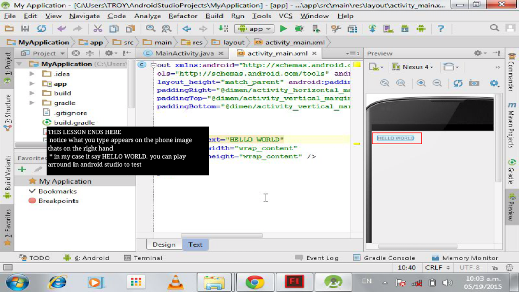 Android Studio Live Tutorial   Download APK for Android