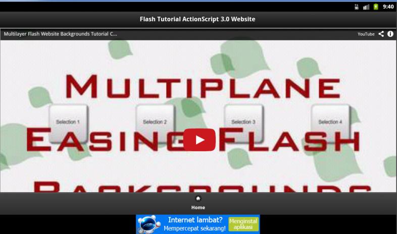 Flash script tutorials for beginners.