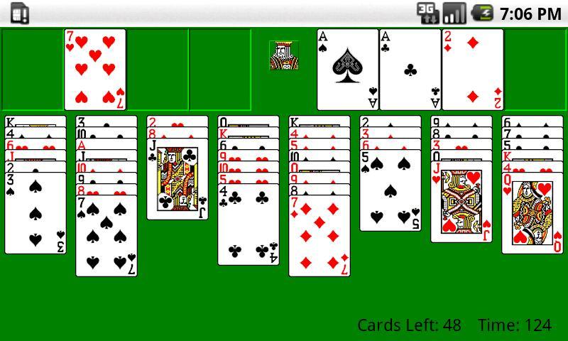 Classic FreeCell HD screenshot 1