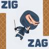 Zig Zag Jump Icon