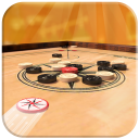 Multiplayer Carrom Board : Real Pool Carrom Game