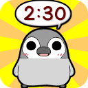 Pesoguin Clock Widget -Penguin