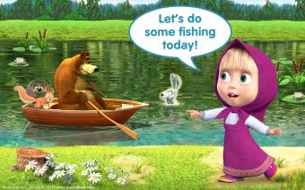 Talking Masha: Toddler Games Screenshot