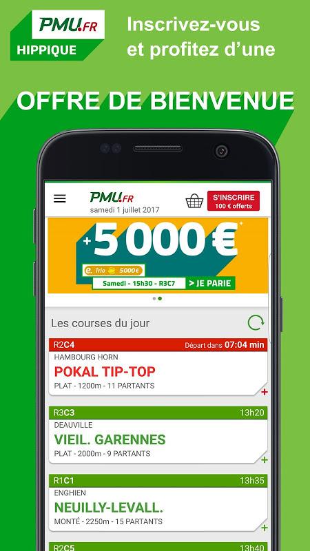 PMU Hippique – Courses, Turf, Quinté, Tiercé, Pari screenshot 1