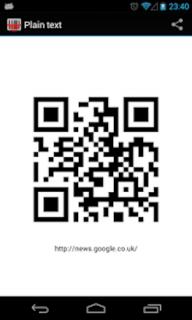 QR Barcode Reader Scanner screenshot 1
