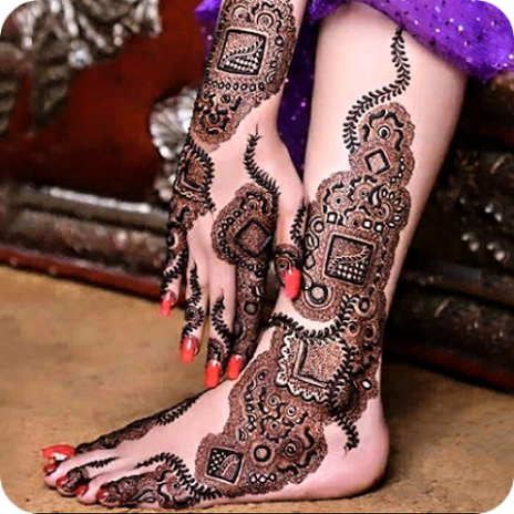 Desain Henna Pengantin 2018