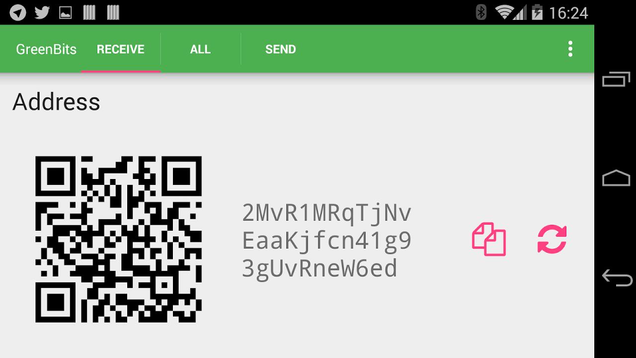GreenBits Bitcoin Wallet screenshot 12