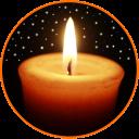 notte candela 🕯️ rilassamento, sonno, meditazione