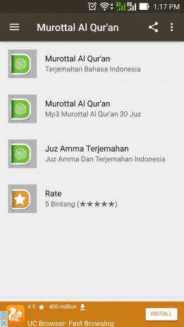 Murotal Al Quran: Terjemahan Bahasa Indonesia 1 0 Baixar APK para