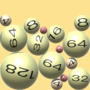3D Roll Ball - 2048 Merge Puzzle