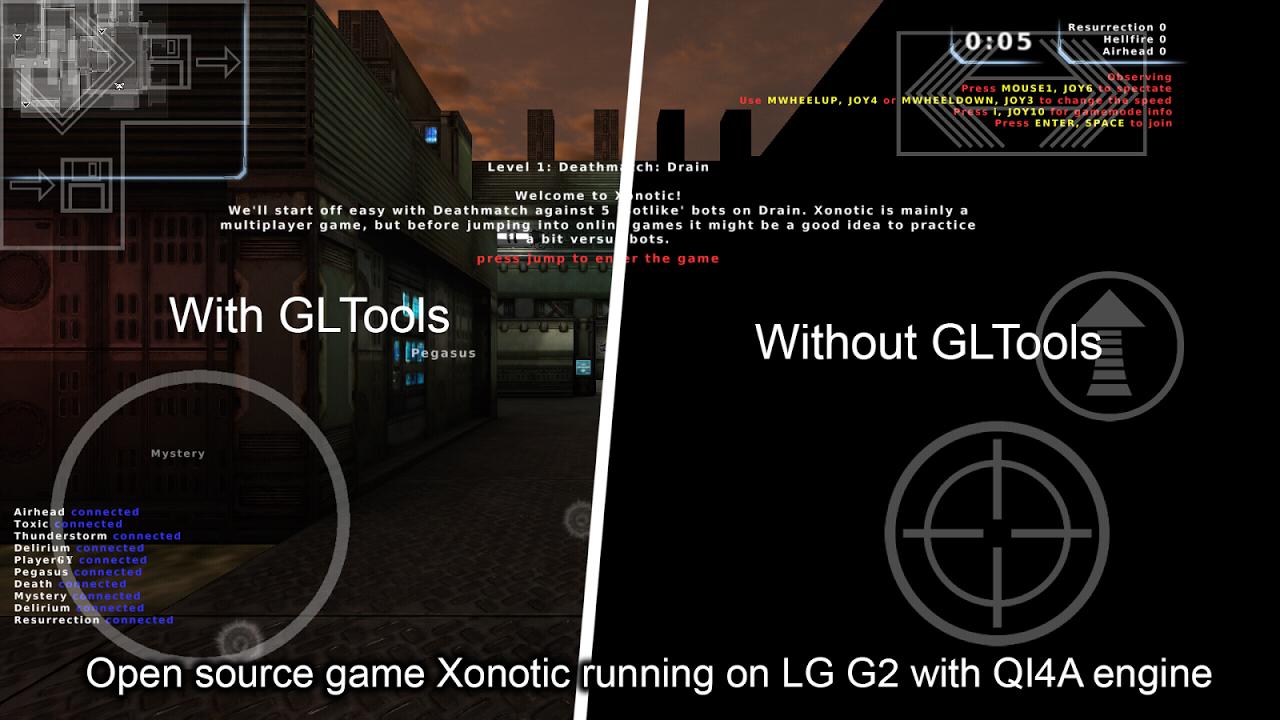 GLTools (graphics optimizer) screenshot 2