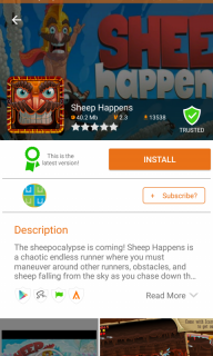 Aptoide Dev V8 screenshot 6