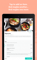 Deliveroo: Food Delivery Screen