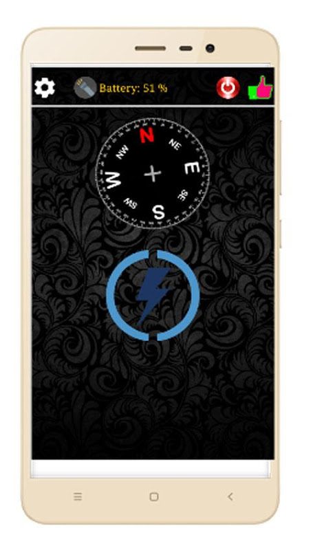 Torch Me - Shake On/Off with Compass & Blink Mode screenshot 1