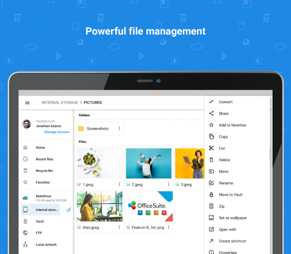 File Commander - File Manager & Free Cloud screenshot 5