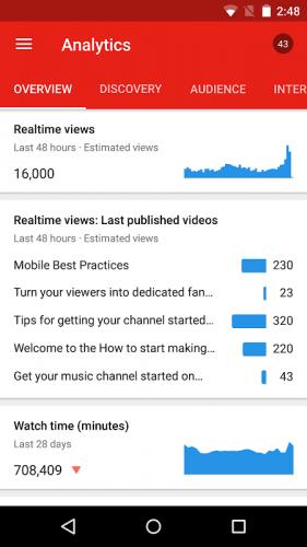 YouTubeStudio screenshot 8