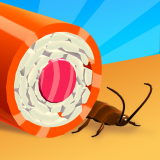 Sushi Roll 3D - Cooking ASMR Game Icon