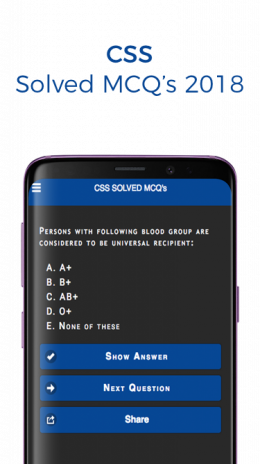 CSS Solved MCQs 2019 2 0 Download APK for Android - Aptoide