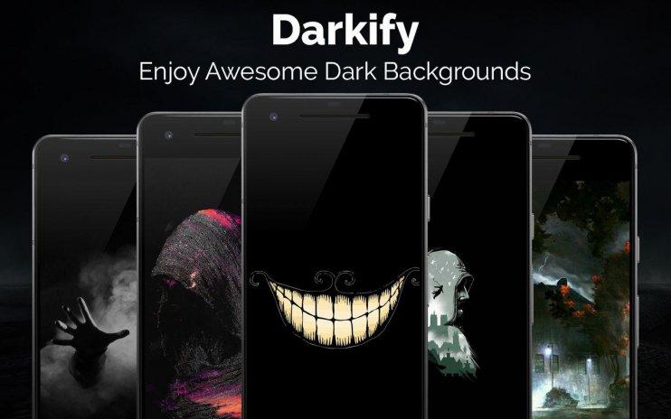 Fond D Ecran Noir Darkify 3 1 Telecharger L Apk Pour