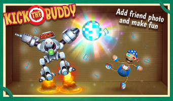Kick the Buddy Screen