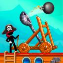 The Catapult: Zusammenstoß mit den Piraten