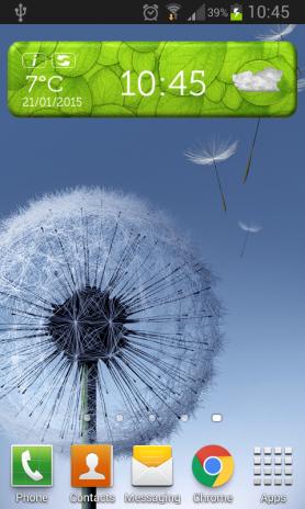 Kühles Wetter Uhr Widget 3 0 Laden Sie Apk Für Android Herunter