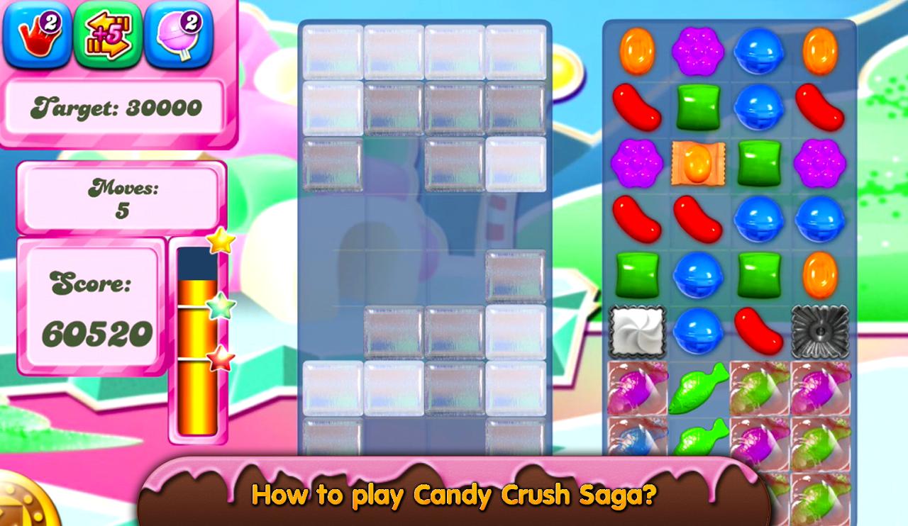 Guide Candy Crush Saga screenshot 1