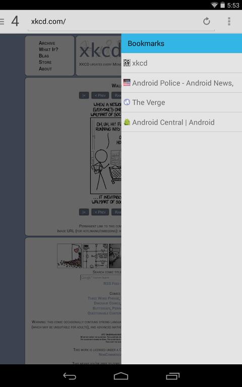 Lightning Browser + screenshot 2