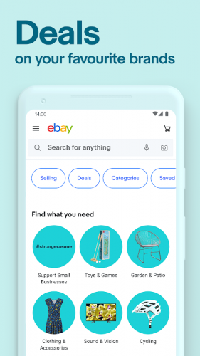 Ebay Buy Sell And Save Discover Deals Now 6 6 6 18 Download Android Apk Aptoide