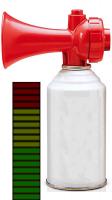 Loud Air Horn Screen