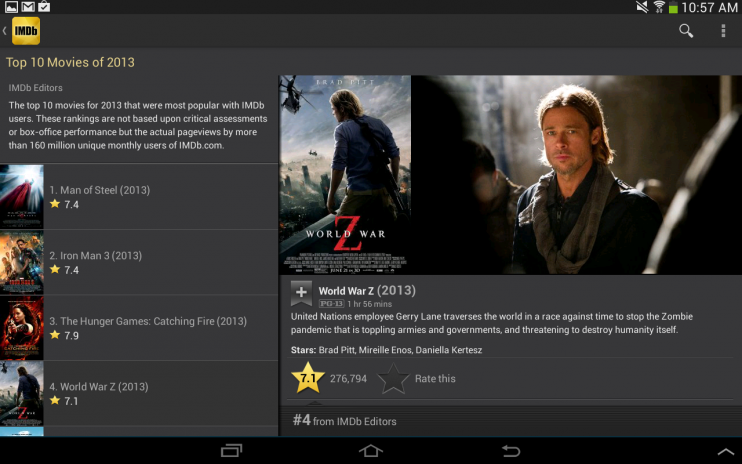 IMDb Movies & TV 2 3 2a Download APK for Android - Aptoide
