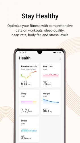 Huawei Health screenshot 4