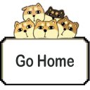 The dog go home