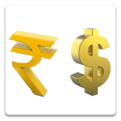 Usd Inr Currency Converter Icon
