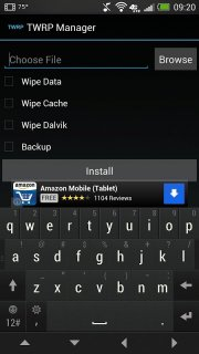 TWRP Manager  (ROOT) screenshot 3