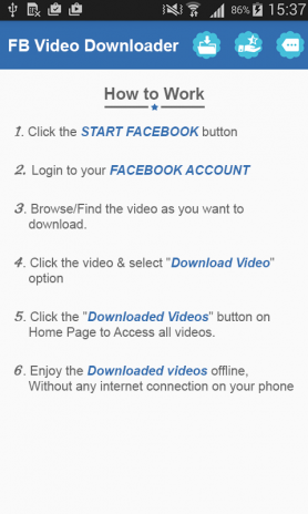 Fast Facebook Video Downloader Free 1 2 Download APK for Android