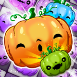 Halloween Swipe - Carved Pumpkin Match 3 Puzzle Icon
