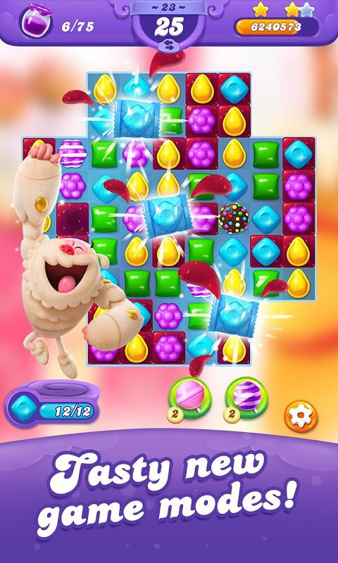 Candy Crush Friends Saga screenshot 1