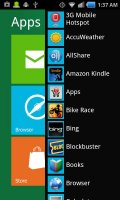 Windows 8 for Android Screen