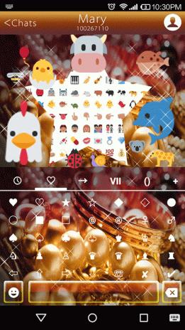 Arabic Jewelry Emoji Keyboard 1 1 Descargar APK para Android
